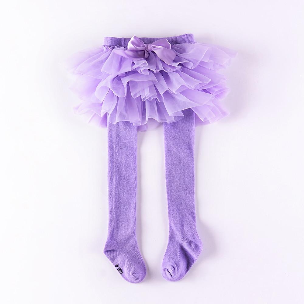 Колготки для маленьких девочек шифоновая юбка-пачка леггинсы для новорожденных фатиновая юбка