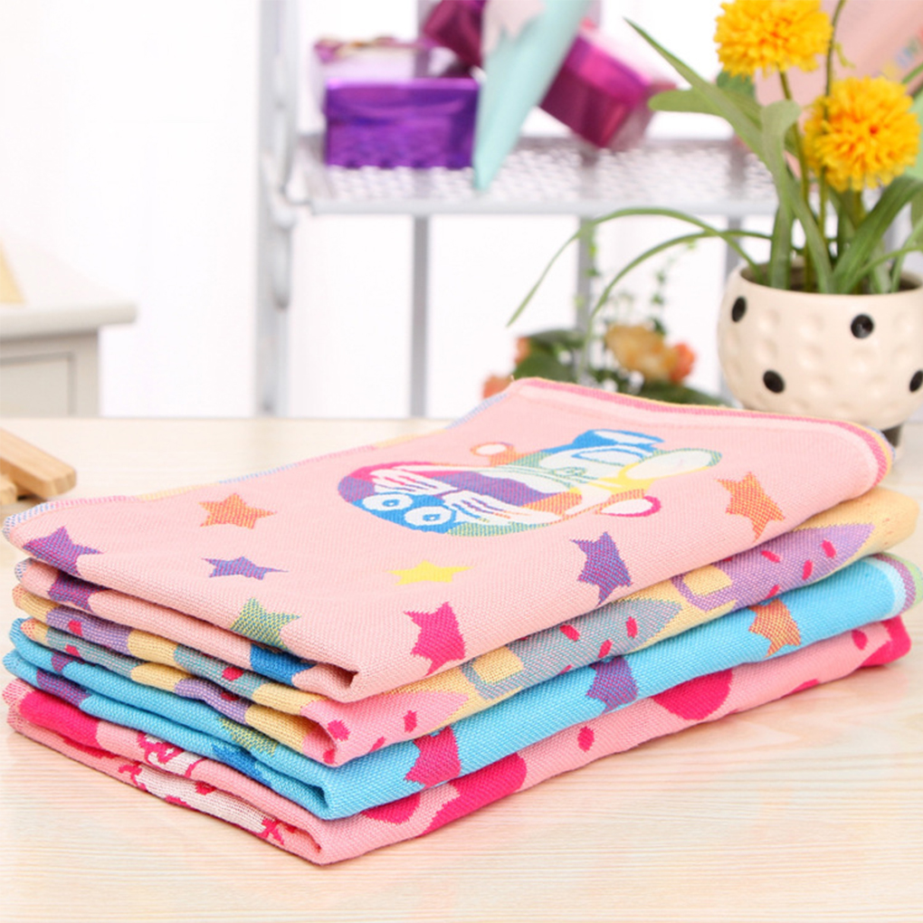 Baby Towel fashion superfine fiber Kid Bath Towels Washcloth Square Towel Children Kitchen Bathroom Wipe Wash Cloth gift Towel