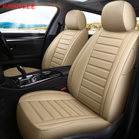 KADULEE custom leather car seat cover For Skoda Octavia Fabia Superb Rapid Yeti Spaceback Joyste Jeti auto accessories car style