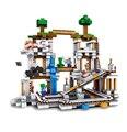 Lepin mi mundo minecraft bloques de construcción de la mina diy ensamblar figura enlighten construcción ladrillos juguetes