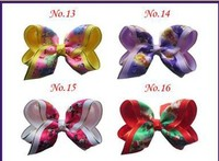 Wholesales Free Shipping New Style 20pcs BLESSING Good Girl Cinderella Hair Accessories 4 B Princess Bow