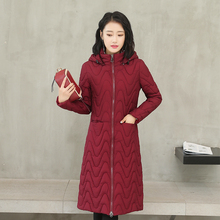 2020 New Winter Jacket Women Hooded Parka Coats Female Long Sleeve Thick Warm Snow Wear Jacket Coat Mujer Quilted Tops цена