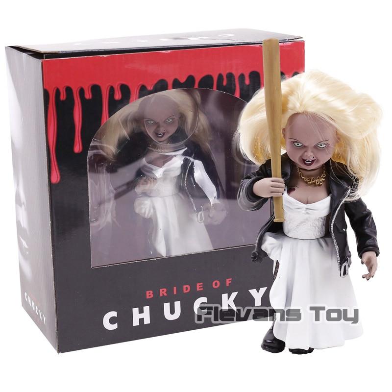 Детская игра Невеста Чаки Тиффани ПВХ, движущаяся фигурка, Коллекционная модель, игрушка кукла из фильма ужасов
