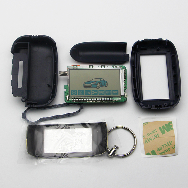 Car Alarm System 2 Way Remote Control For Starline B92 not include battery