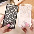 KISSCASE Retro Elegant Pattern Case For iPhone 6 6s Plus Samsung Galaxy S7 Edge S6 Edge Note 4 5 Samsung E5 E7 A3 A5 A7 A8 J5 J7