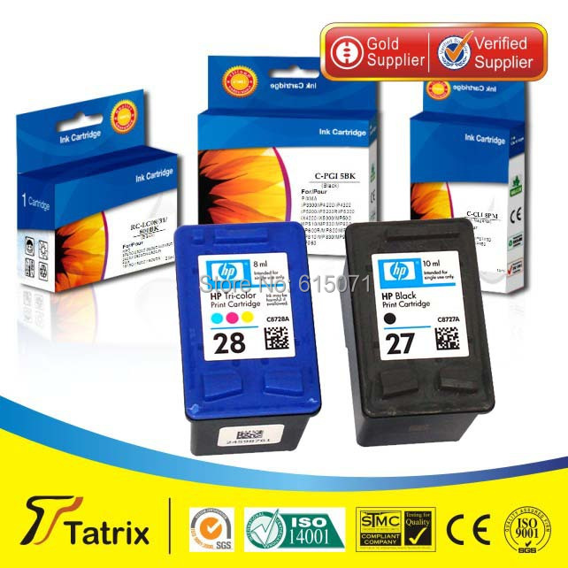 ФОТО Inkjet cartridge for HP 8727a in re-manufactured ink cartridge ,Free shipping