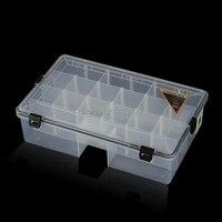 free shipping 4size PP storage box Sealed bin Home Storage Organization hard Drug needlework part sundries jewelry box tool box