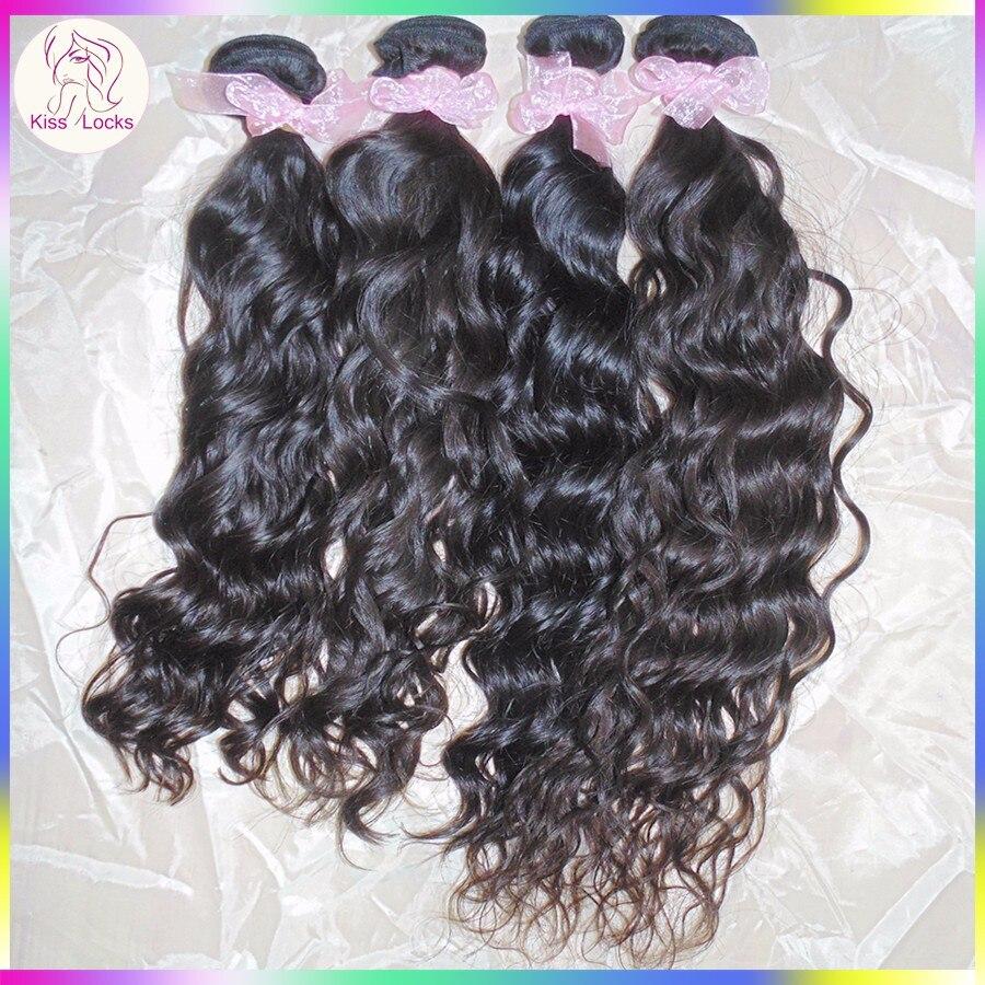 Angela Simmons 3 Bundles Natural Loose Waves Premium Mongolian