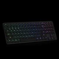 HEXGEARS X1 Bluetooth Keyboard RGB Backlight PBT Keycap Kailh Switch Keyboard Wireless Portable Mechanical Keyboard