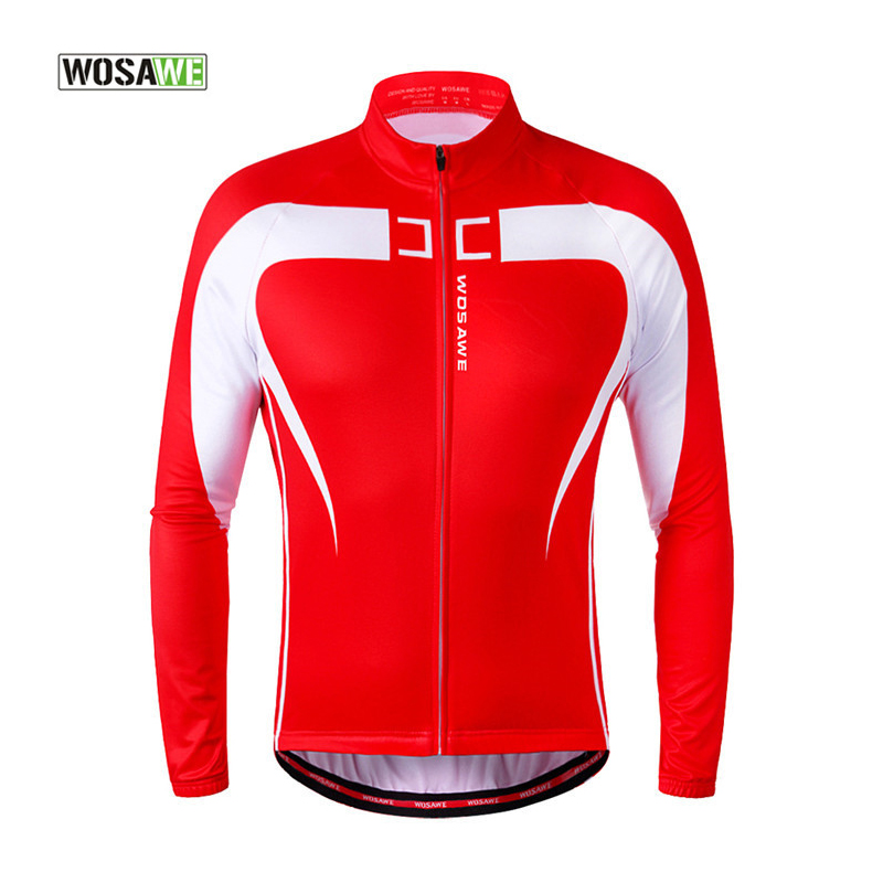 WOSAWE 2016 Winter Thermal Warm Up Cycling Jacket Bike Riding Clothing Windproof Waterproof Coat Long Sleeve Jersey  wosawe outdoor sports windproof winter long sleeve cycling jacket unisex fleece thermal mtb riding bike jersey men s coat