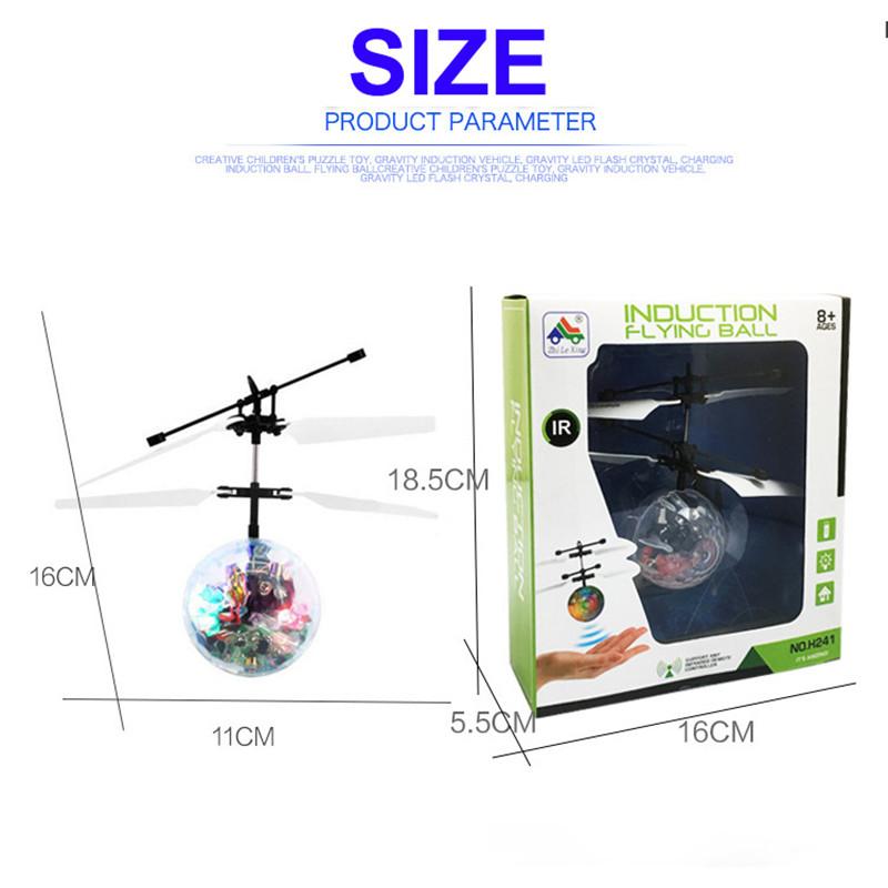 Helicopter Dron Children Light 6