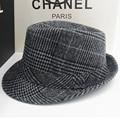 Invierno lana sentía Fedora sombreros para hombre Chapeau Masculino sombreros de panamá Jazz Trilby gángster Cap envío gratis