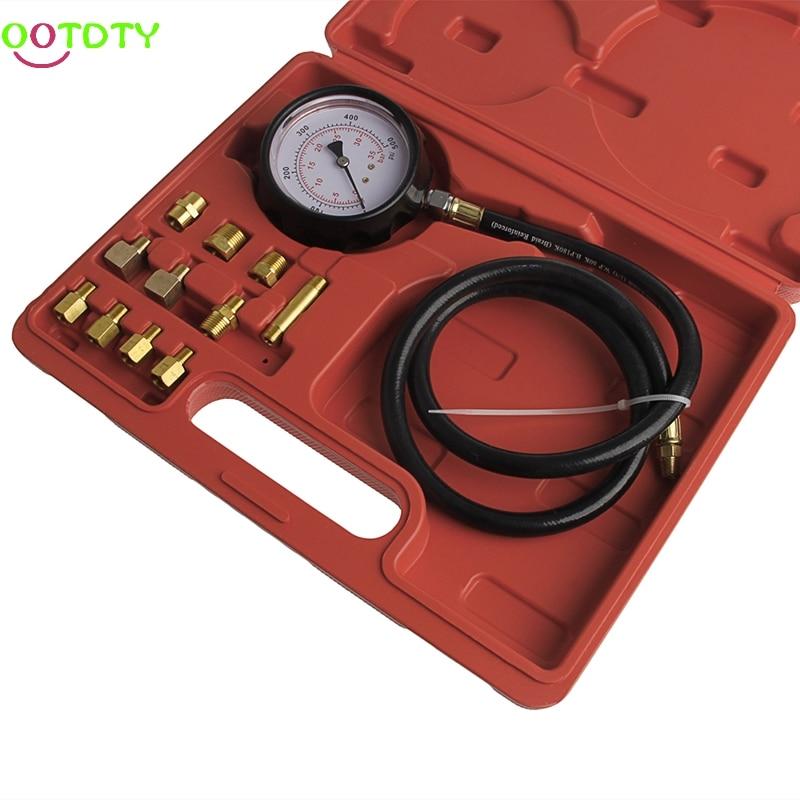 Car Wave Box Cylinder Pressure Meter Oil Pressure Tester Gauge Test Tools car tire pressure gauge tire pressure gauge with gas air pressure gauge for car fit for motorcycle bicycle type measure meter