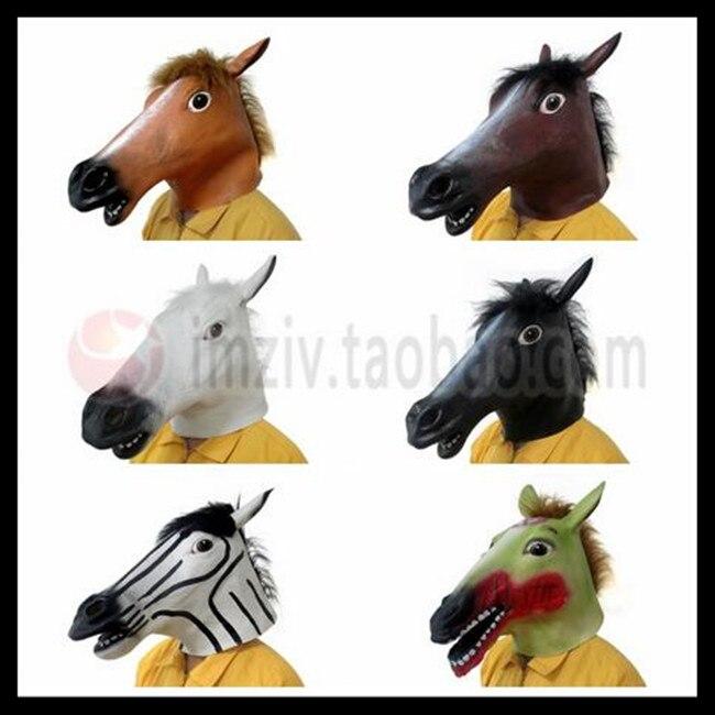 Envío libre del Partido de Halloween Cosplay máscara cabeza de ...
