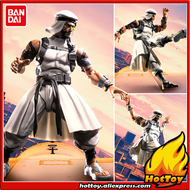 100% Original BANDAI Tamashii Nations S.H.Figuarts (SHF) Action Figure - Rashid from Street Fighter V