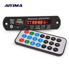 AIYIMA Bluetooth Amplifier Board 15Wx2 MP3 Decoder Board Bluetooth 5.0 Receiver WAV APE FLAC Audio Decoding USB TF FM AUX