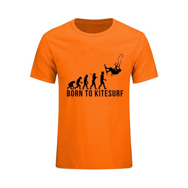 5709d4ec5eba Casual Vestidos verano 2017 Tees Designer Born to Kitesurf Evolution Funny 3d  T shirts Men Backstreet