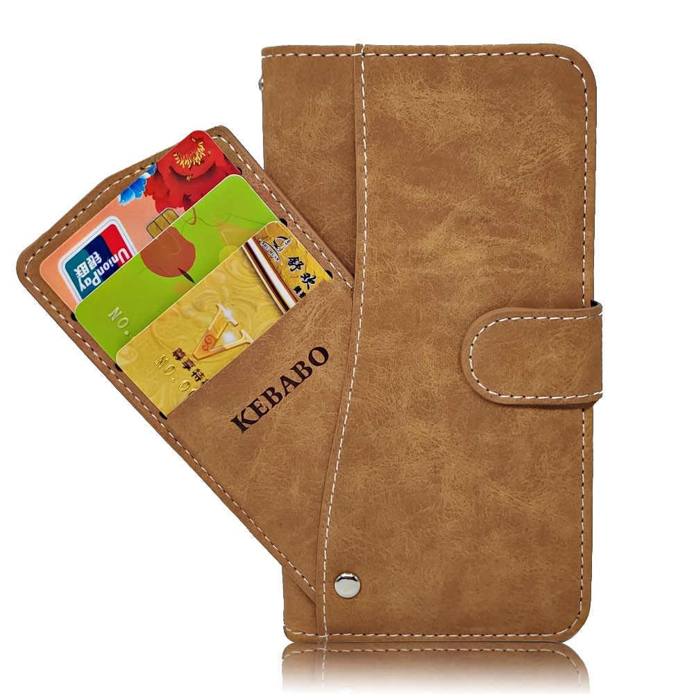 Luxus Brieftasche Fall Für ZTE Blade V10 A7 V9 Vita A522 A530 A606 Fall Vintage Flip Leder TPU Silikon Abdeckung karte Slots