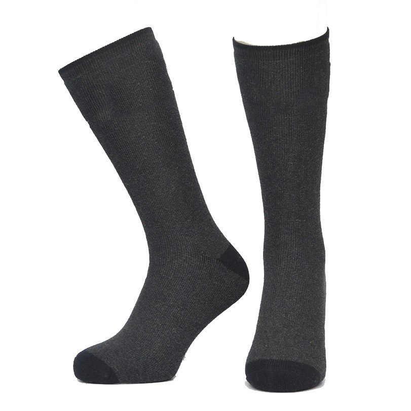 Çorap Büyük Boy Kış Isınma Yün Çorap Erkekler Isıtmalı Snowboard Kayak Thermosocks açık hava yürüyüşü Kayak Sox