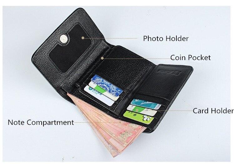 Cheap ladies short wallet