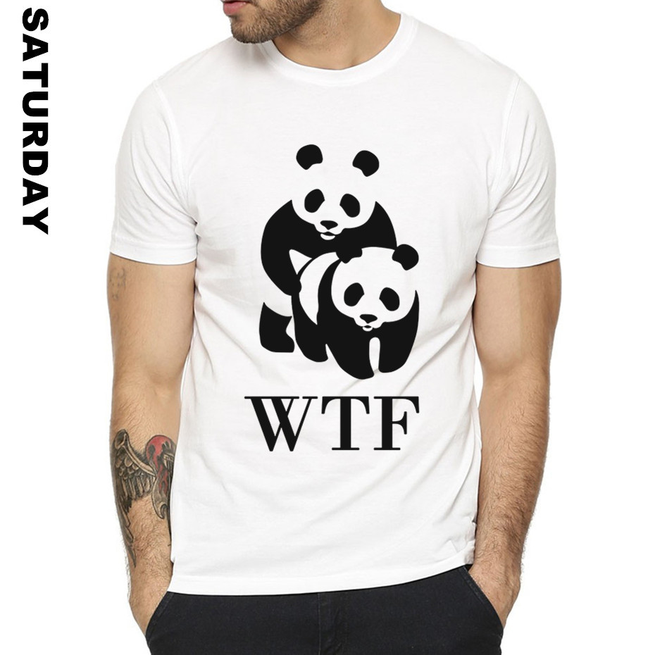 WWF <font><b>Sex</b></font> Panda Comedy Design <font><b>Funny</b></font> <font><b>T</b></font> <font><b>Shirt</b></font> for Men and Women,Unisex Breathable Graphic Premium <font><b>T</b></font>-<font><b>Shirt</b></font> Men's Streewear image