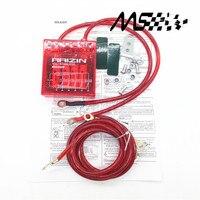 Мега-стабилизатор напряжения RAIZIN/с 5 проводами заземления и светодиодный дисплей красного цвета 90%
