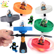 Ninja kai jay Zane Figures spinners Ninjago Spinning Top Building Blocks compatible legoingly Bricks Educational Children Toys(China)