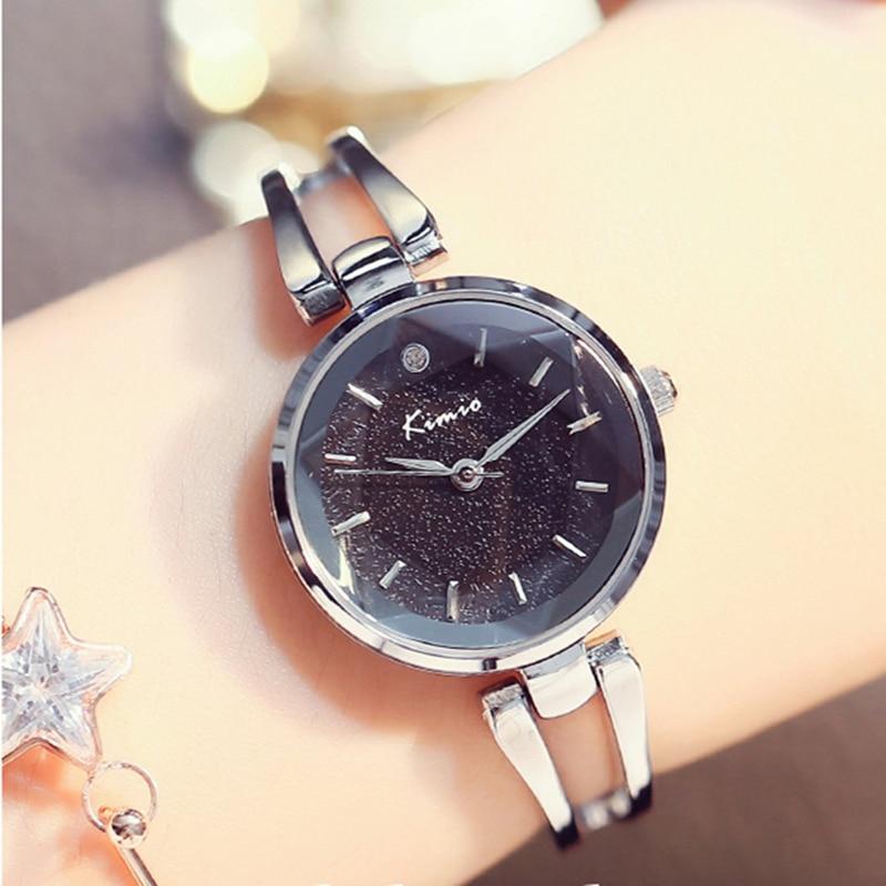 Prix pour 2017 nouveau kimio montre de luxe femmes de mode casual dames montre strainless bracelet en acier montres pour femmes quartz montres hodinky