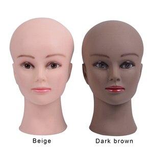 Image 2 - Cabeça de manequim para peruca, cabeça de manequim para peruca, cílios, joias, máscara de massagem para venda suporte
