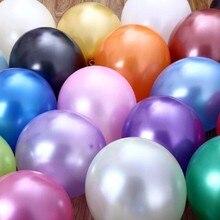 Хорошее качество 100 шт./упак. 12 дюймов 2.8 г латекс Воздушные шары празднование Дня Рождения Свадьба декоративные игрушки жемчуг шар подарок мячи