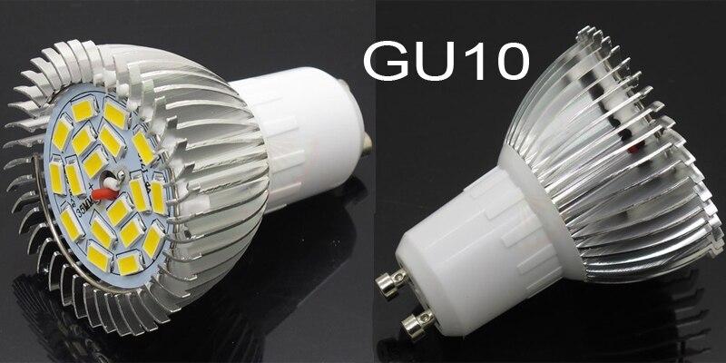 Levou Holofotes gu10 smd 5730 18 leds Base Tipo : E14, E27, Gu10