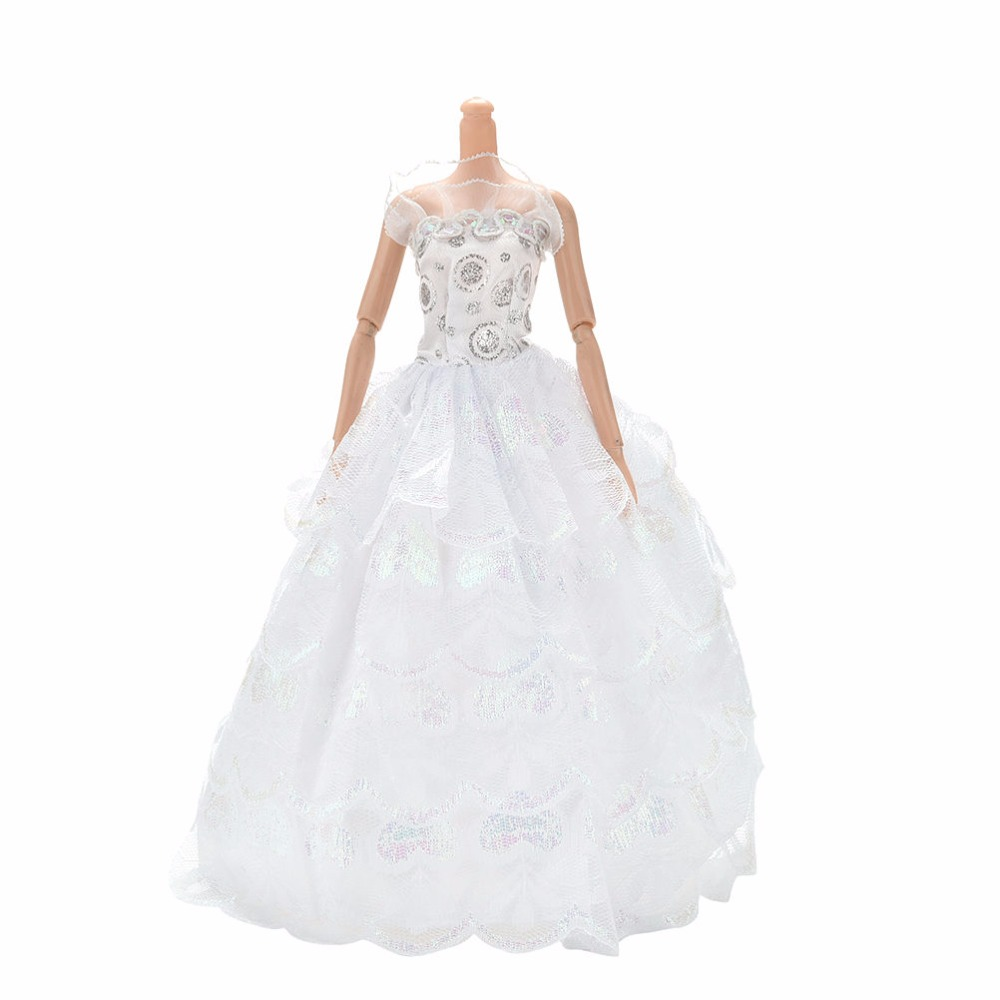 ALI shop ...  ... 33040439349 ... 5 ... Colorful Elegant Handmade Summer Bridal Gown Princess Dress Clothes Wedding Party Dress For Barbie Doll Acessories ...