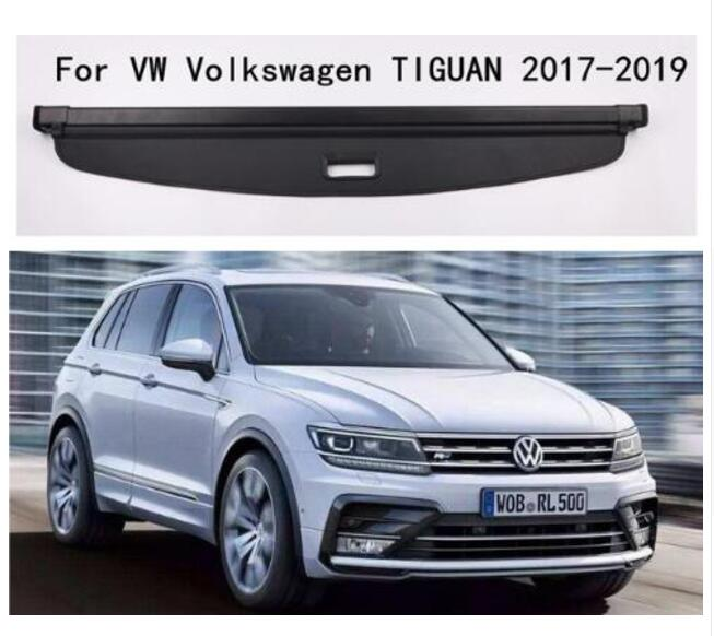 Car Accessories High Qualit Car Rear Trunk Cargo Cover Security Shield Screen Shade Fit For Volkswagen TIGUAN 2017 2018 2019