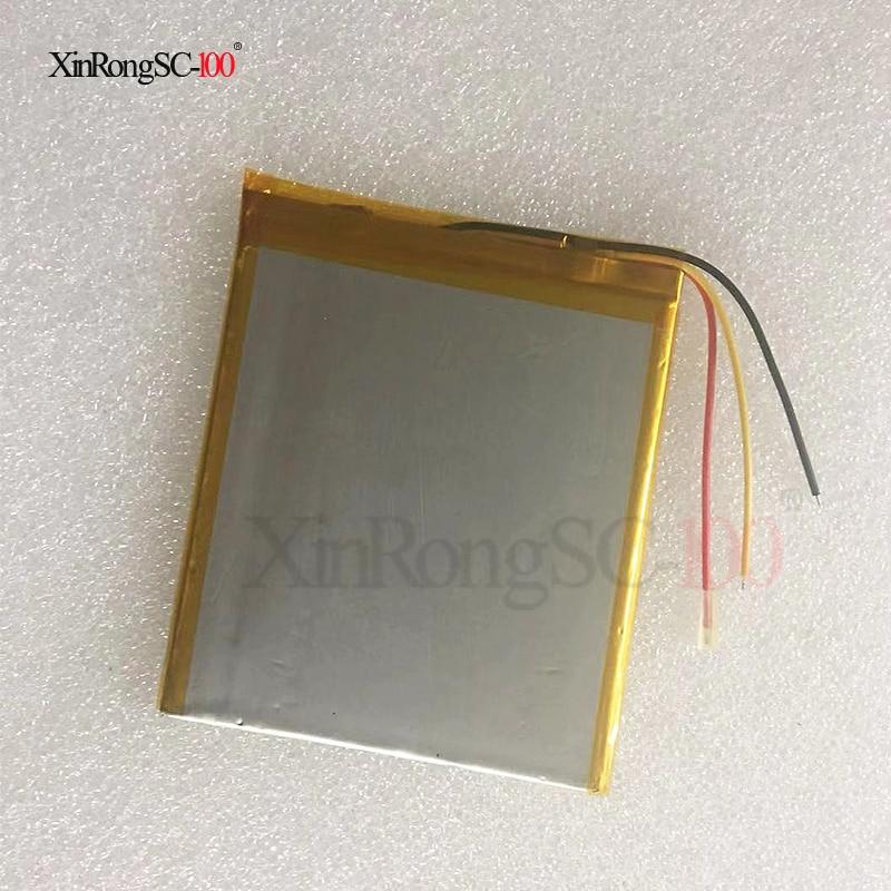 Tablet-akkus & Backup-stromversorgung Universal Pack 3 Linie 318292 Für 7 8 Zoll Tablet Pc Batterie Innere 4000 Mah 3,7 V Polymer Li-ion