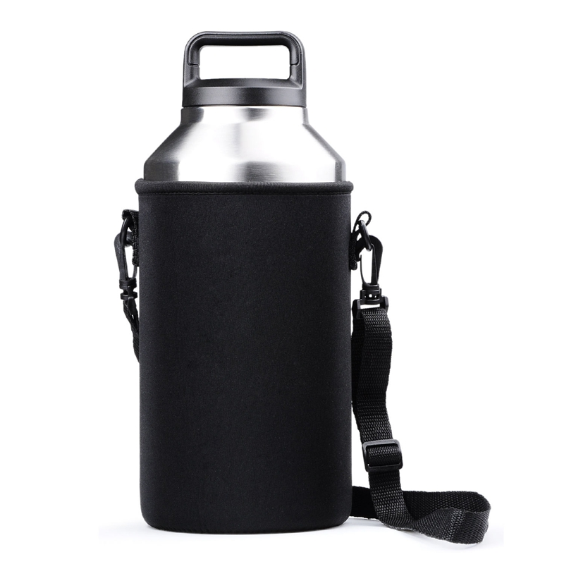 Portable Bottle Sleeve Carrying Pouch Carrier Bag With