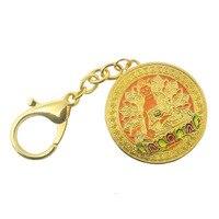 Feng Shui Ratnasambhava Buddha Pendant W Red String Bracelet W3689