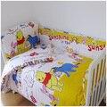HOT sell free shipping 10 Pcs/sets baby bedding set 100% cotton curtain crib bumper  baby cot sets customi