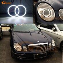 Для Mercedes Benz e class w211 E200 E220 E270 E280 E320 E420 CDI 2003-2009 отличный ультра яркий smd комплект светодиодов «глаза ангела» DRL