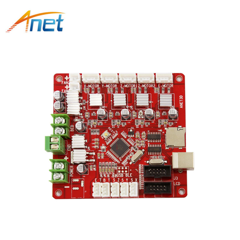 Anet V1.5 3D Printer Accessories motherboard Control Board for Anet E10 A8 & A6 & A3 & A2 prusa I3 Reprap 3D Printer parts dc24v cooling extruder 5015 air blower 40 10fan for anet a6 a8 circuit board heat reprap mendel prusa i3 3d printer parts page 9