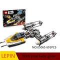 Горячие Строительные Блоки Лепин Star Wars 05065 Обучающие Игрушки Для Детей Лучший подарок на день рождения Коллекция Декомпрессии игрушки