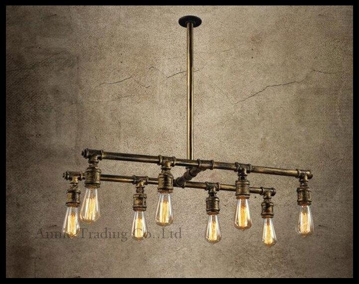 Lampadario Stile Rustico : Stile vintage retrò rustico tavolo bar lustri lampadario boutique