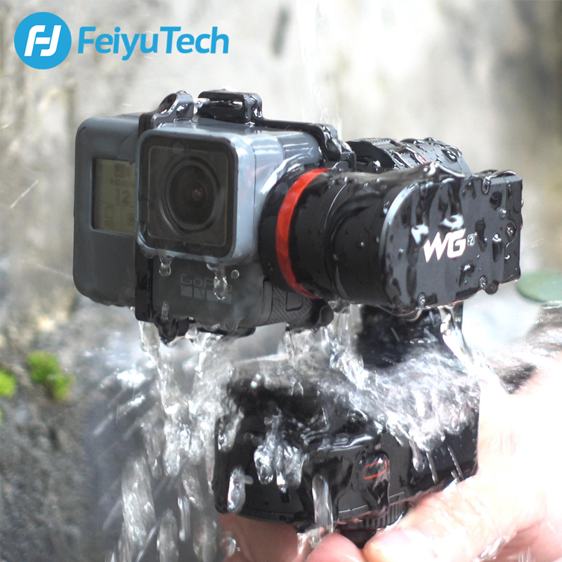 FeiyuTech WG2 Portable Montage Cardan 3-axe Étanche Stabilisateur pour GoPro hero 6 4 5 Session YI 4 k SJCAM AEE Camera Action