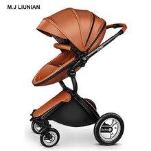 M.J LIUNIAN High Quality baby stroller Eggshell seat Design