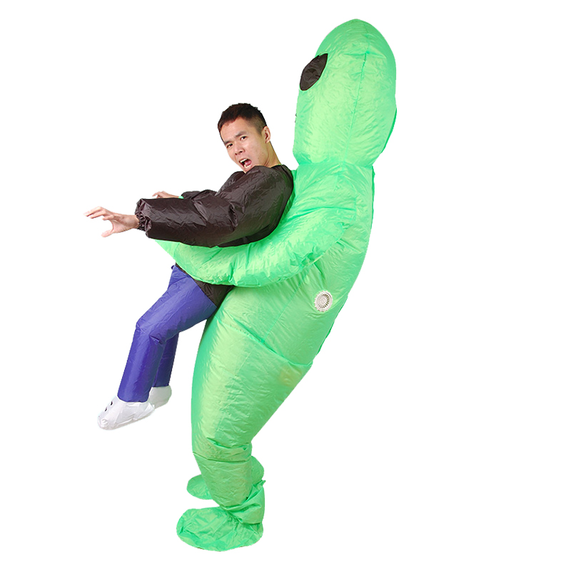 Inflatable Alien Funny Blow Up Suit