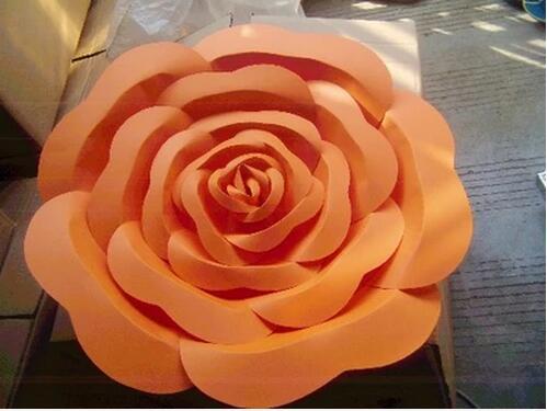 Künstliche Blumen Große Papierblumen Dekoration Papierblumen - Partyartikel und Dekoration - Foto 6