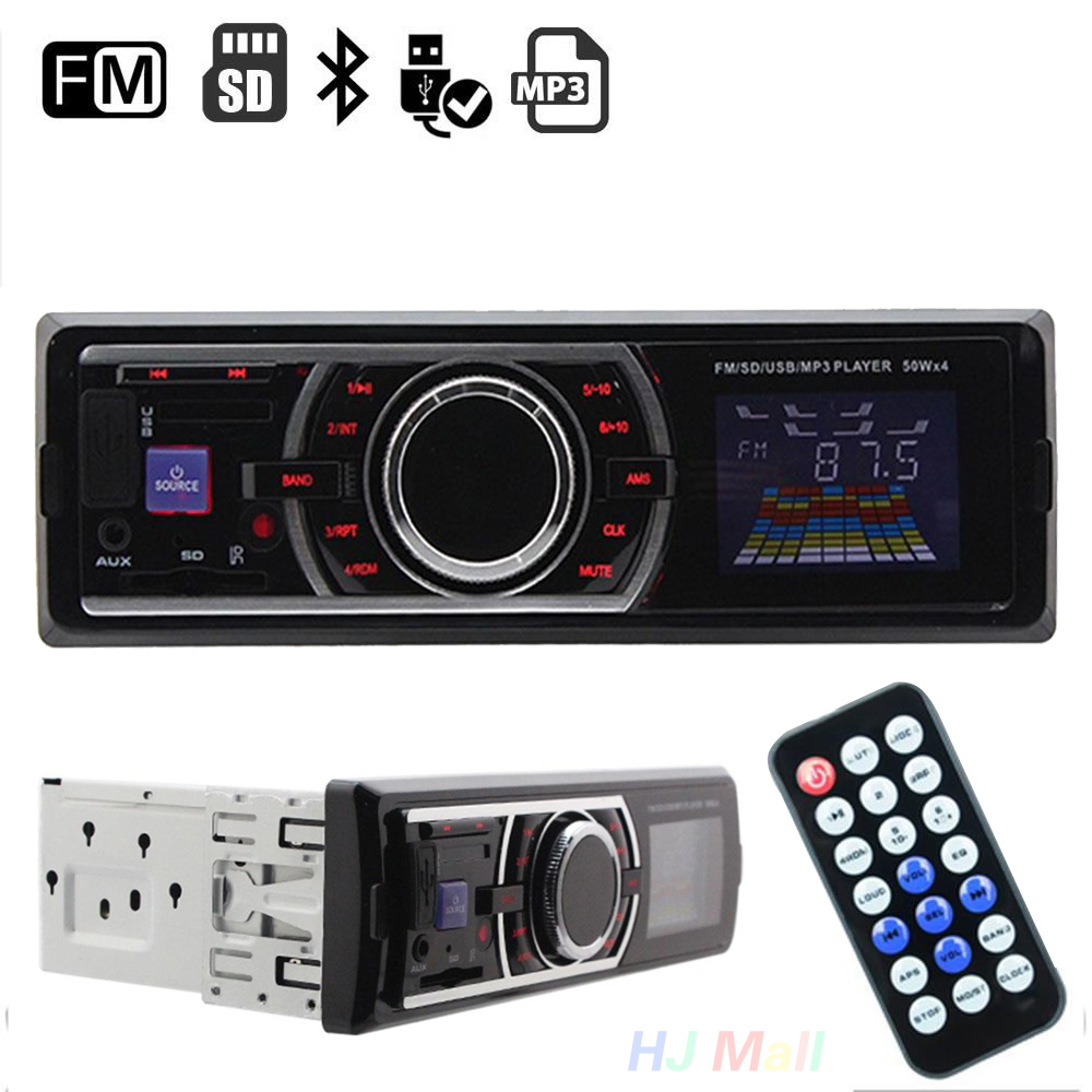 Car Audio And Video Player Auto Vehicles Car In-Dash Radio Stereo Audio Aux Input SD USB FM Head Unit MP3 Player Car Interior