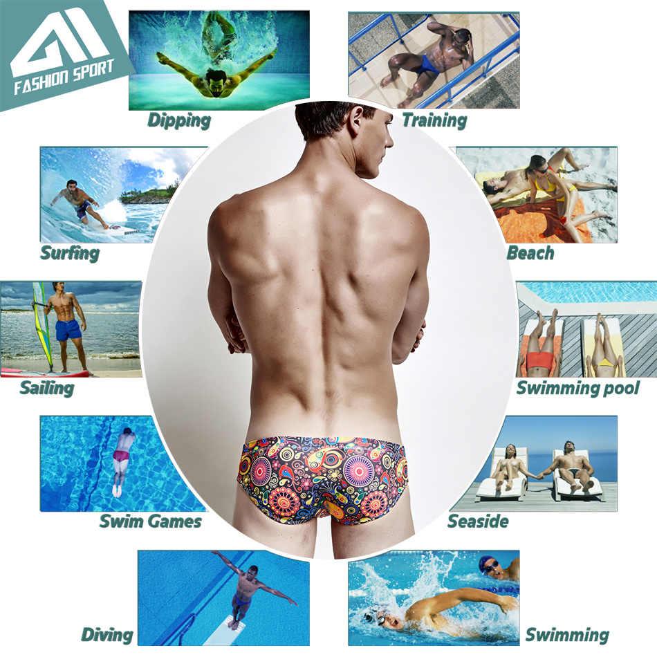 Herren Bademode Bikini Schwimmen Kurze Badeanzüge Board Shorts Surf Boxer Badehose Sexy Strand Schwimmen Briefs Durch Aimpact E407E410E409S320