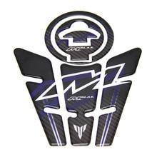 For Yamaha M-slaz 150 Motorcycle Sticker Decal Decoration Carbon Fiber Oil Tank Fuel Gas Sticker Pad Cap Cover Moto 150