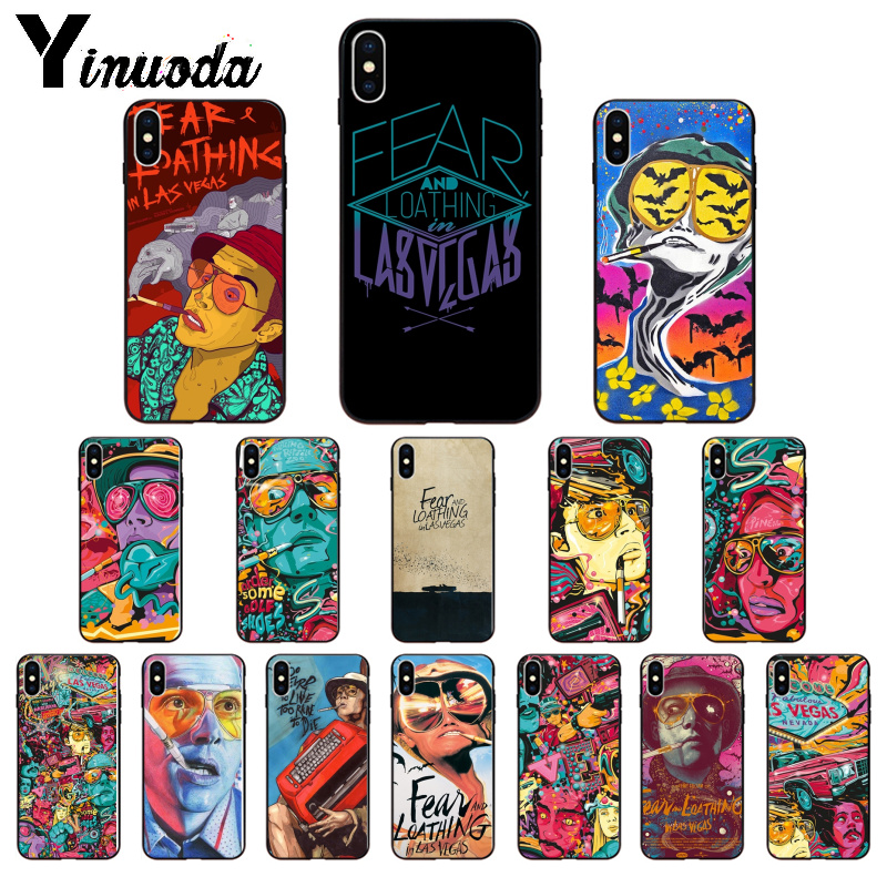Yinuoda Fear And Loathing In Las Vegas High Quality Phone Case For Apple Iphone 8 7 6 6s Plus X Xs Max 5 5s Se Xr Cellphones Half Wrapped Cases Aliexpress