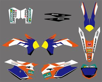 NEW STYLE TEAM GRAPHICS DECALS STICKERS FOR KTM 125 150 200 250 300 350 450 SX SXF SX-F XC XCF XC-F XCW XCFW EXCF 2013 2014 2015